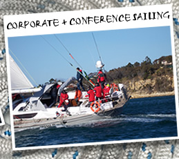 Click here to go to Corporate and conference sailing